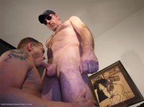 Servicing Officer D from New York Straight Men