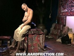 Stroking Antonio Biaggi from Hard Friction