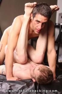 Lars And Jack Bareback from Hot Barebacking