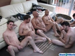 6 Way Amateur Sex from Wank Off World