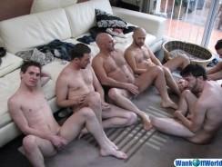 6 Way Amateur Sex from Wank Off World