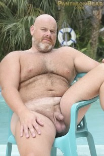 Bear Daddy Brick Hampton from Hot Older Male