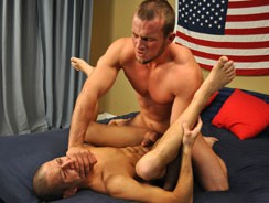 Gay Porn - Devin Fucks Justin from All American Heroes