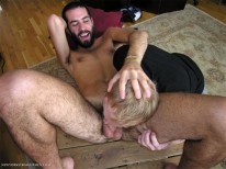 Dougs Sweaty Bj from New York Straight Men