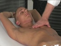Massaging Kirk James from Boynapped