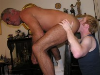 Servicing Mack from New York Straight Men
