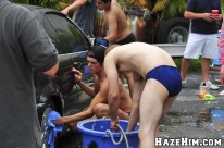 Fraternity Car Wash from Haze Him
