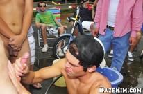 Fraternity Car Wash from Haze Him