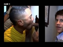 Sucking Aj Irons from Unglory Hole