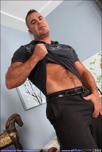 Mature Hunk Adam Rogue from Men Over 30