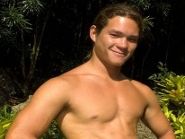 Surfer Boy Kanoa from Island Studs
