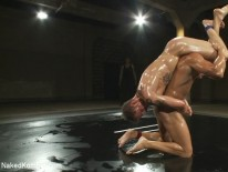 Ryan And Trent Wrestle from Naked Kombat