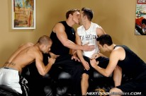 College Jock Orgy from Next Door Buddies