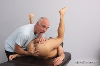 Tyler Hunt Massaged from Jake Cruise