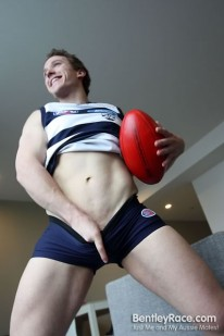 Football Hunk Brad from Bentleyrace