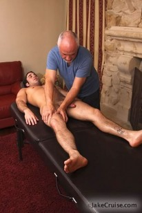 Massaging Samuel from Jake Cruise