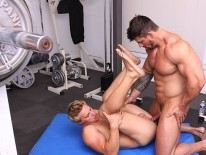 Zeb Fucks Brady from Cocksure Men