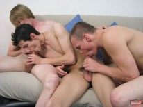 Straight Oral 3way from Broke Straight Boys