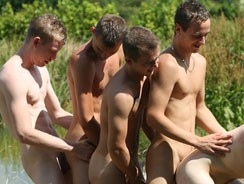 Twink Gangbang from Boynapped