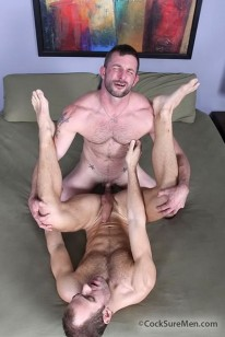 Morgan And Trey Fuck from Cocksure Men
