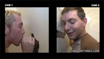 Sucking Off Jacob from Unglory Hole
