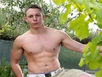 Hunky Str8 Jacob from English Lads
