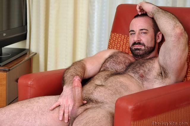Hairy man porn