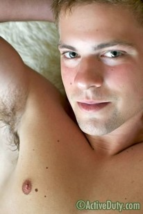 Amateur Hunk Taylor from Active Duty