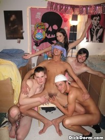 Frat Boy Dorm Fun from Dick Dorm