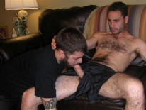 Servicing Tony from New York Straight Men