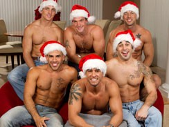 gay sex - Merry Holiday Hunks from Next Door World