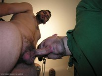 Servicing Gus from New York Straight Men
