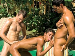 Shanes Pool Party from Falcon Studios