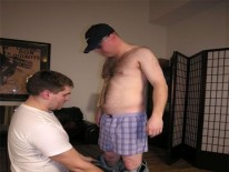 Servicing Seamus from New York Straight Men