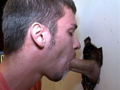 Sucking Jimmy Clay from Unglory Hole