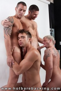 Bareback Orgy from Hot Barebacking