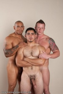 Muscle Stud 3way from Hot Barebacking