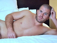 gay sex - Amateur Stud Bryce from The Guy Site