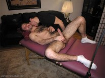 Sucking Hairy Tony from New York Straight Men