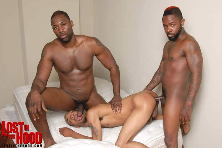 Gay Black 3way