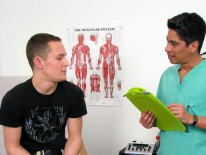 Trevors Physical Exam from College Boy Physicals