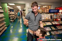 Video Store Fucking from Out In Public
