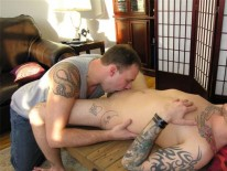 Servicing Troy from New York Straight Men