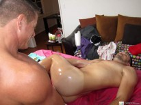 Massaging Danny Lopez from Massage Bait