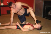 Mugs Wrestles Ryan from Daddy Mugs