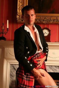 Underneath Henrys Kilt from Uk Naked Men