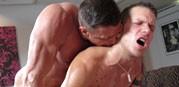 Massaging Shane Frost from Massage Bait