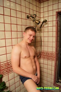 Muscle Boy Micah from Boys Pissing