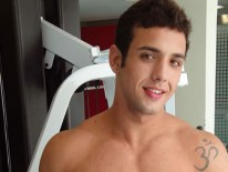 Gym Jock Raffaele from Lucas Kazan