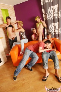Party Boys Orgy from Crazy Party Boys